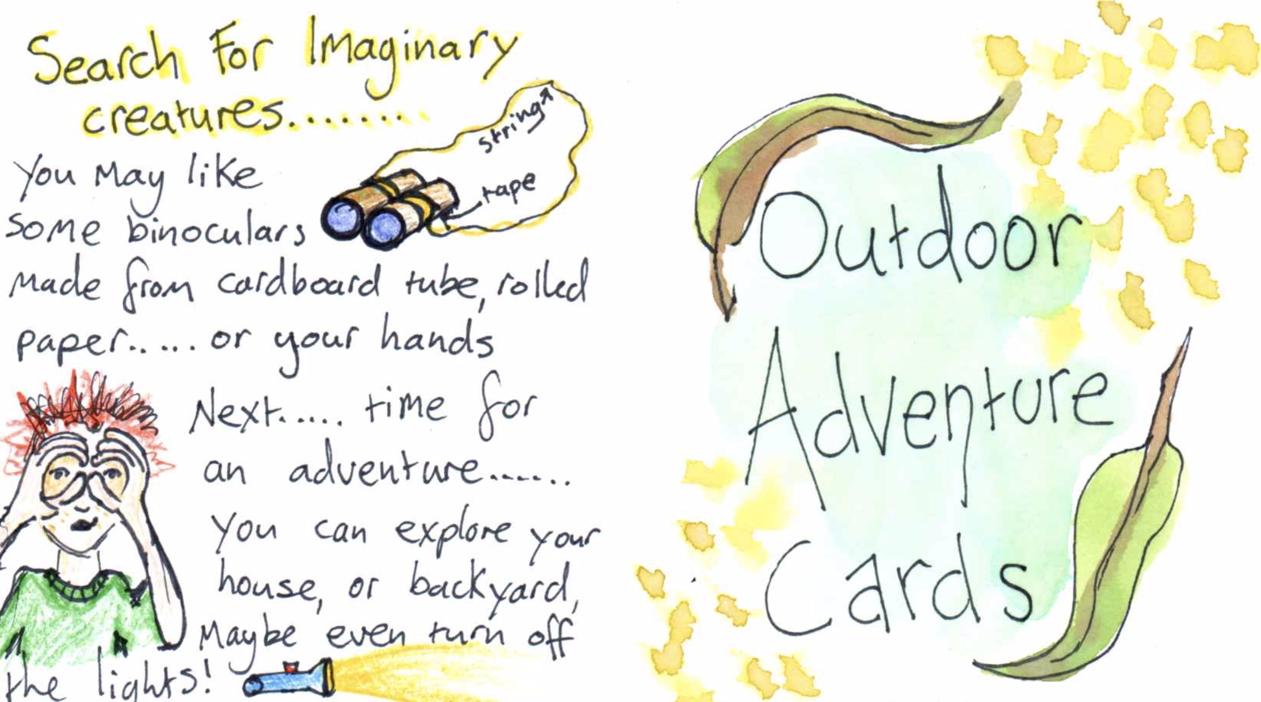 Outdoor Adventure Challenge Cards