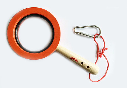Goki Wooden Magnifying Glass Kids