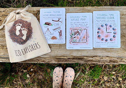 maths in nature cards